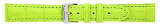 Watch Strap Alligator print Apl. Green 20mm