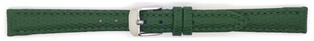 Watch Strap Lizard print Dark Green 12mm