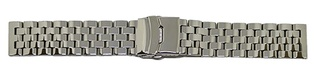 Watch Strap Steel Silver 26mm