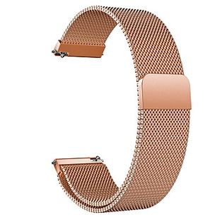 Watch Strap Steel Rose 20mm