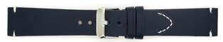 Watch Strap Genuine Calf Navy Blue 18mm