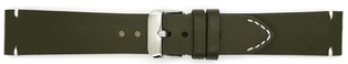 Watch Strap Genuine Calf Dark Green 18mm