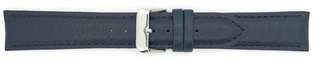 Watch Strap Genuine Calf Navy Blue 16mm